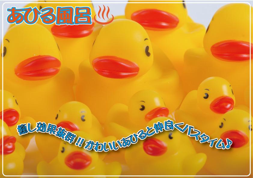 ビックあひる風呂POP③