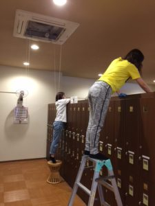 ☆休館日のお掃除☆