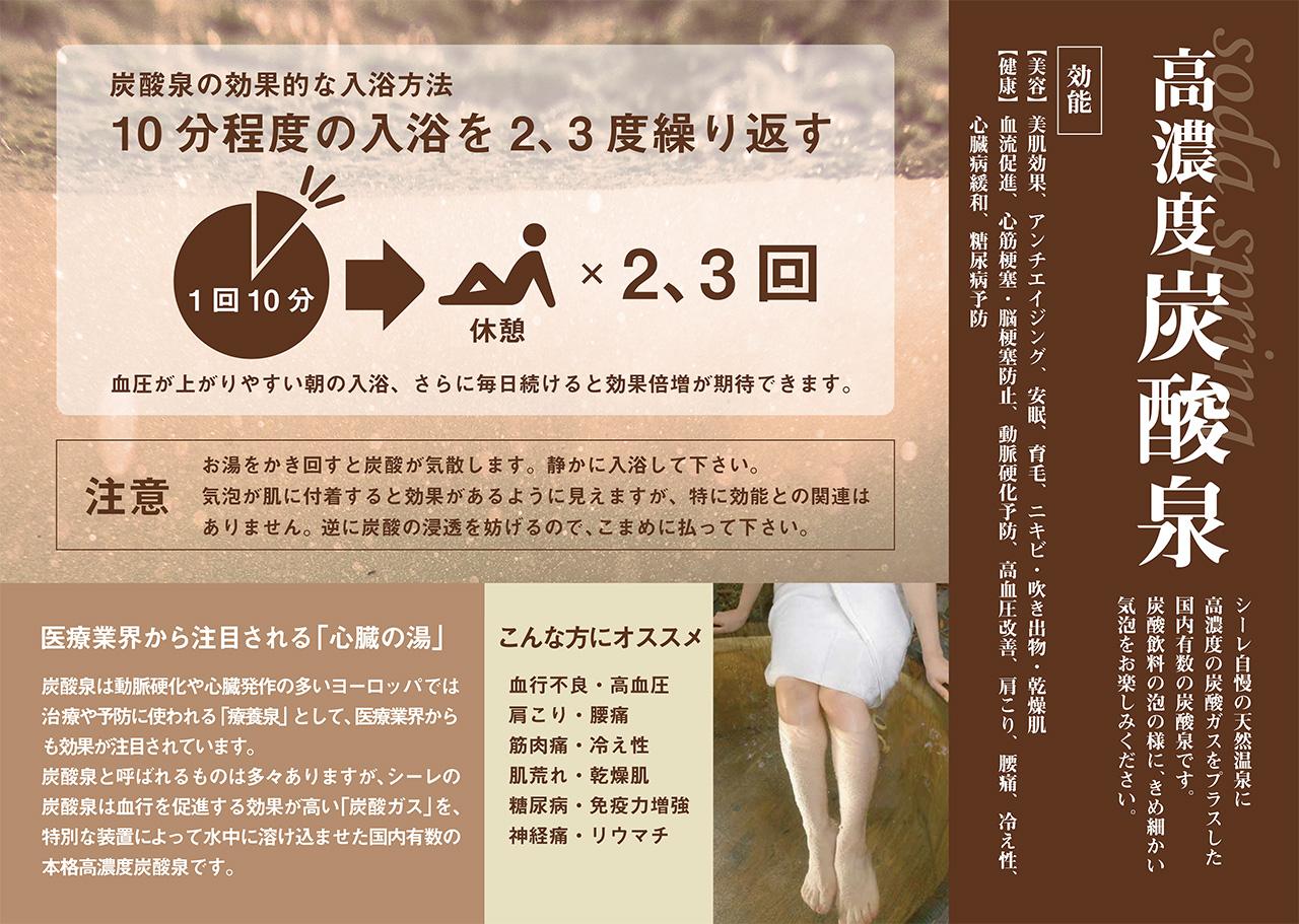 高濃度炭酸泉11月12日(木)スタート!